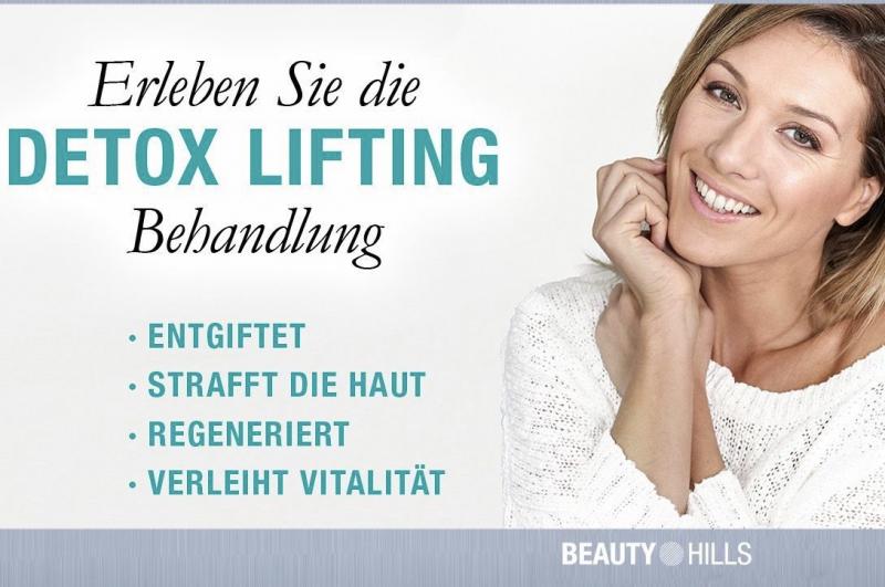 Gutschein - Detox-Lifting Gesichtsbehandlung 90 Min.79,90 anstatt 94,90
