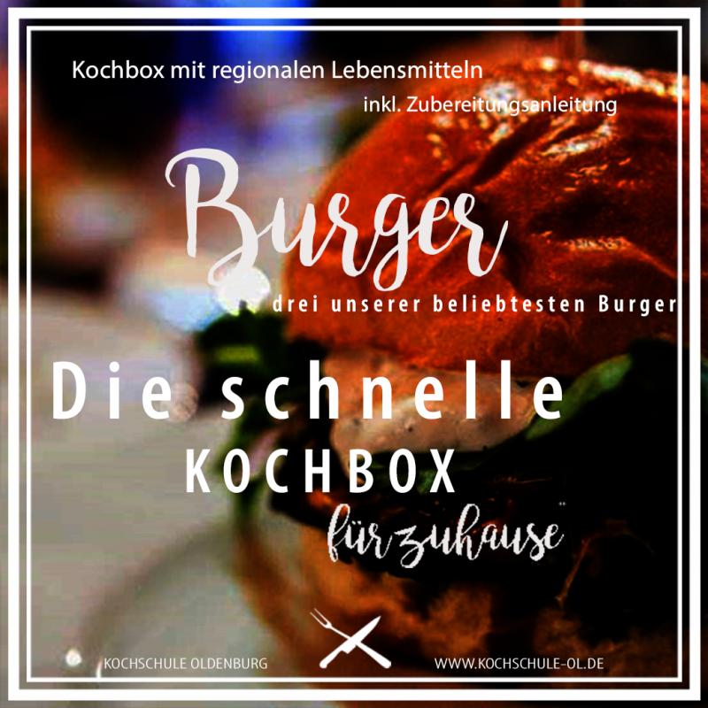 Gutschein - die schnelle Kochbox - Burger